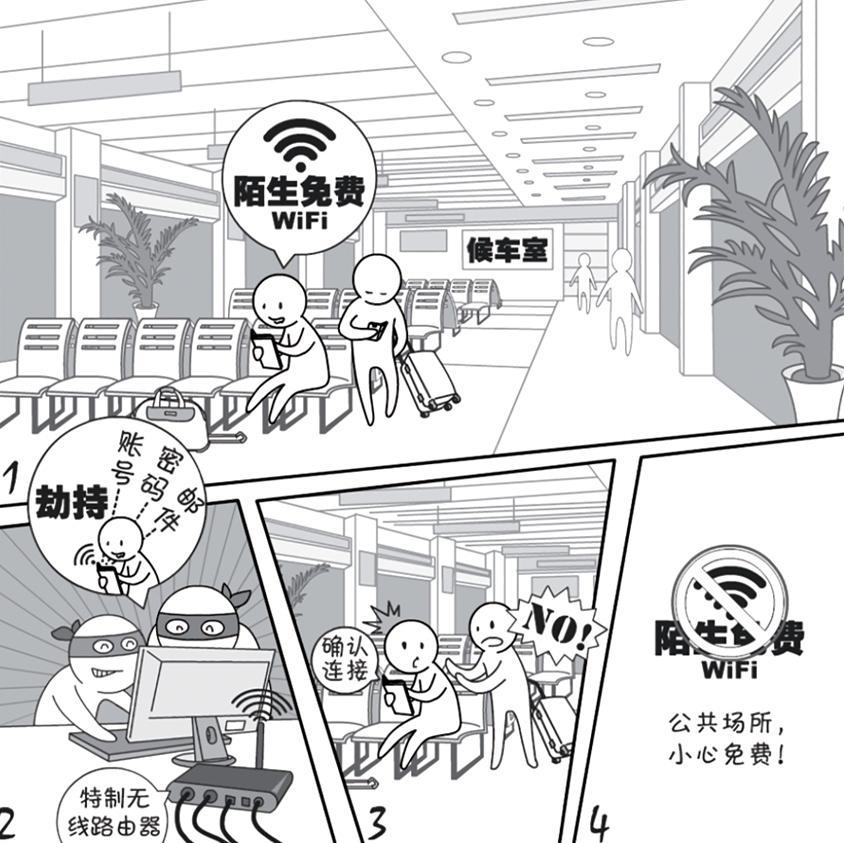 2018国家网络安全宣传周系列动漫——WiFi安全篇